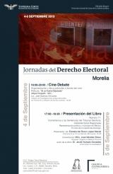 Curso: Semana del Derecho Electoral, Morelia, 4 y 5 de Septiembre de 2013