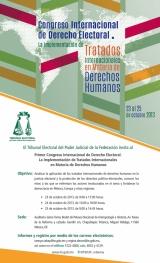 Congreso Internacional de Derecho Electoral