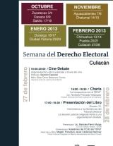 Semana de derecho electoral