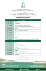 Encuentro Regional de Magistrados y Consejeros Electorales de la IV Circunscripc