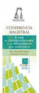 Imagen del cartel, Conferencia Magistral
