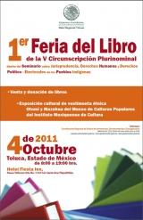 Imagen, Primer Feria del Libro de la Quinta Circunscripción Plurinominal.