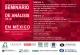 Seminario Permanente de Análisis de la Justicia Electoral en México