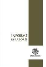 Informes de Labores del Tribunal Electoral del Poder Judicial de la Federación