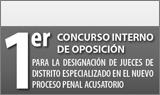 Designación de jueces de distrito especializado